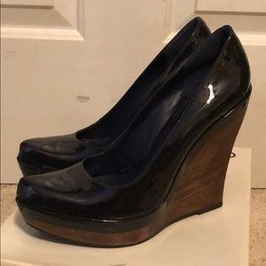 Also Navy Blue wedge